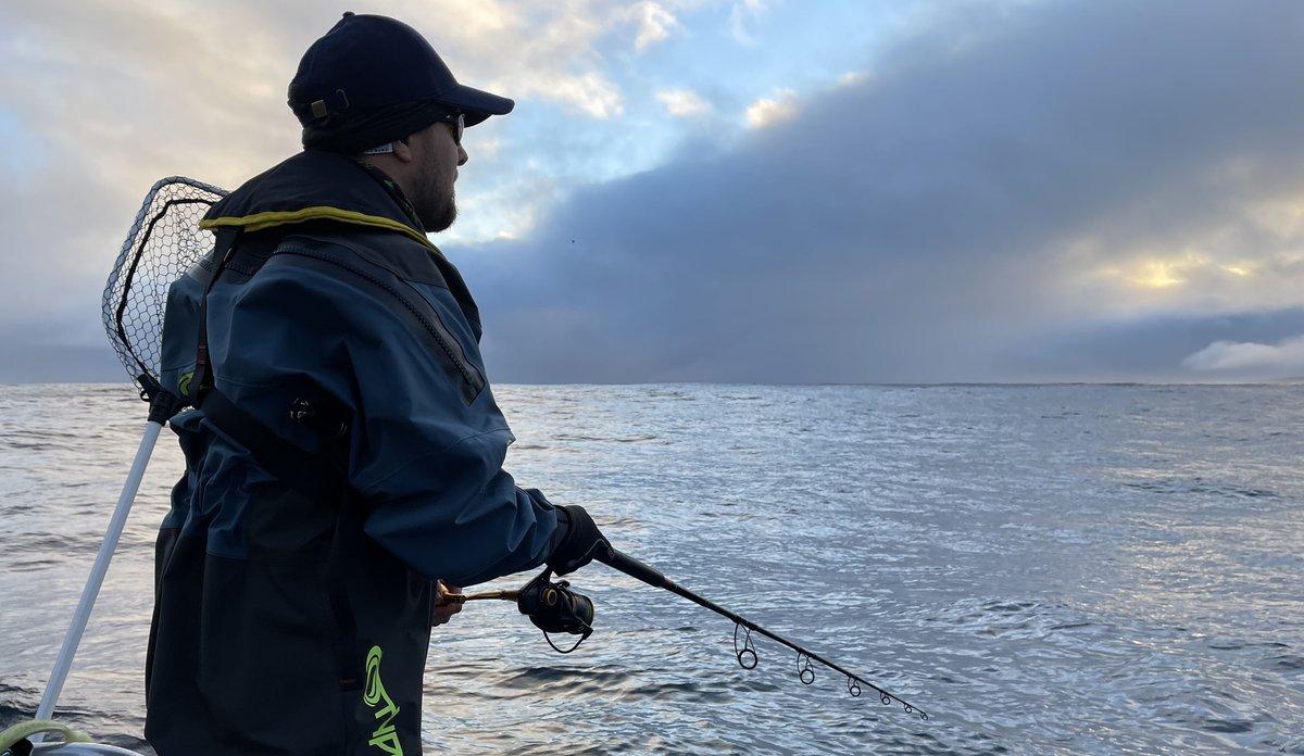 Fisker utenfor Lofoten